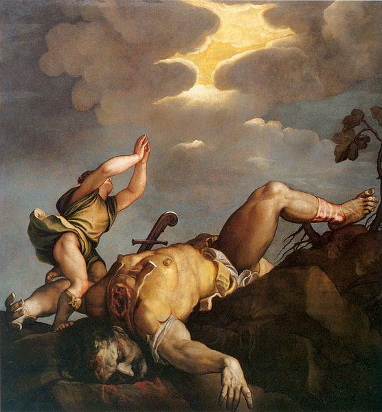 David y Goliat de Tiziano