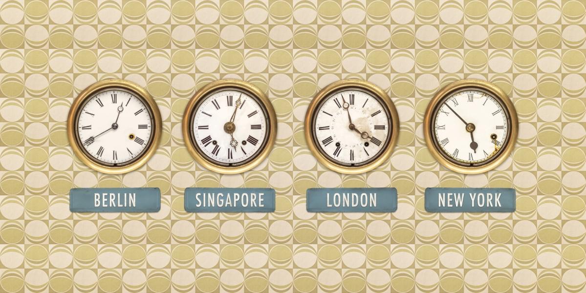 Diferencia horaria con otras ciudades