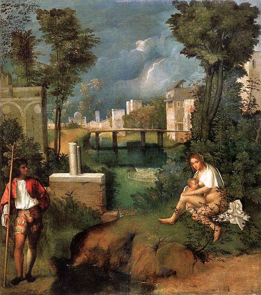 La Tempestad- de Giorgione, una de las obras más famosas de la Galería de la Academia