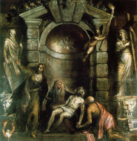 La Piedad de Tiziano