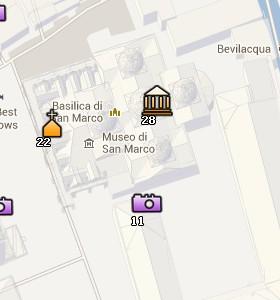 Situación  del Palacio Ducal