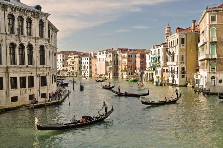 Gran canal de venecia el canal m s famoso de venecia - Marco aldany puerto venecia ...